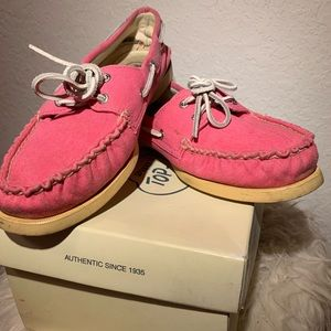 HOT Pink Sperry Top Siders